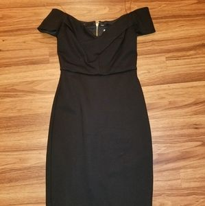 Worn ONCE LIKE NEW black dress!!